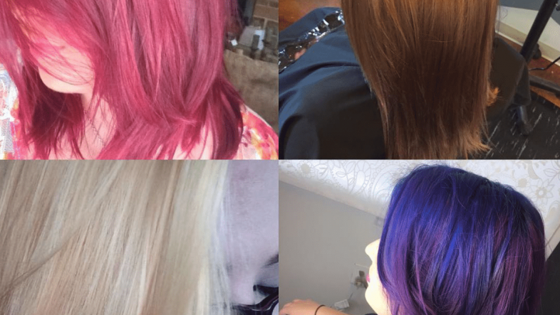 different hair colors