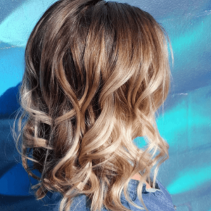 color melting hair color